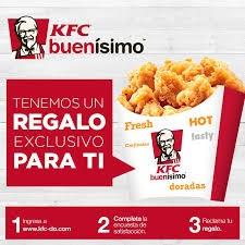 regalos por opinar sobre KFC